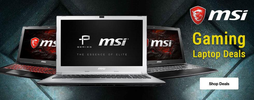 MSI Gaming Laptop Deals