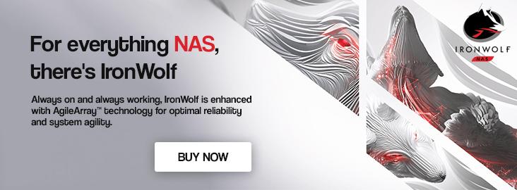 IronWolf NAS Drives