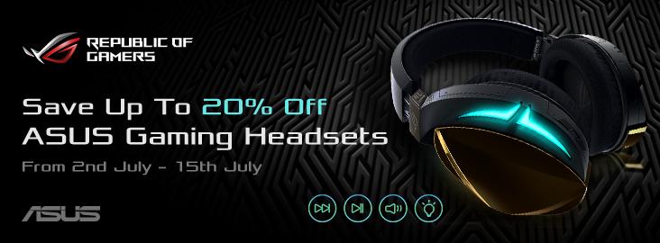 Asus Headset Promo