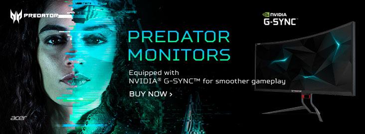 Acer Predator Monitors Q1