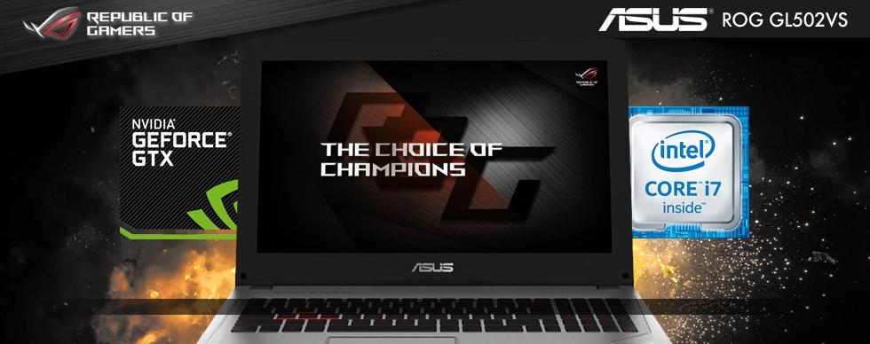ASUS ROG GL502VS Gaming Laptop