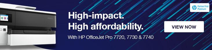 HP OfficeJet Pro 7720, 7730 & 7740