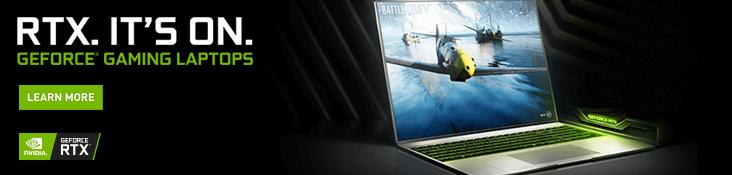 Nvidia RTX Laptops