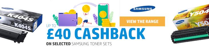 Samsung Toner Cashbask