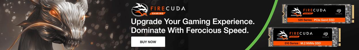 Seagate Firecuda NVMe SSD