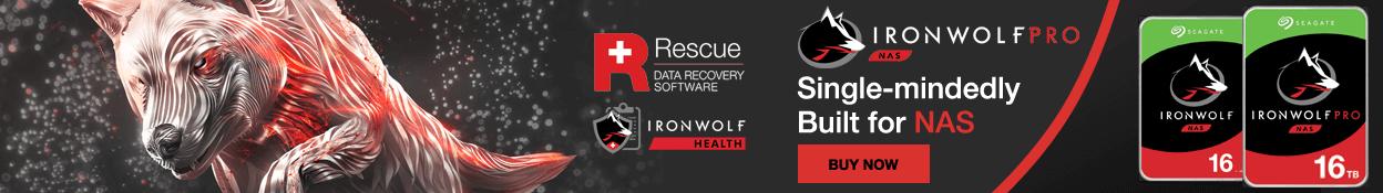 Seagate Ironwolf 16TB & PRO NAS HDD