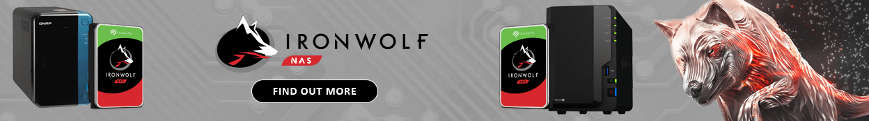 Seagate IronWolf QNAP + SYNOLOGY bundles