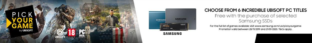 Samsung Ubisoft Promo