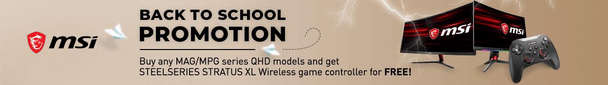 MSI Monitor Promo