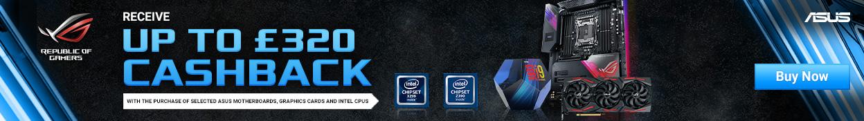 ASUS Intel Cashback