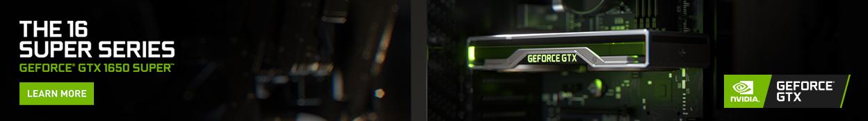 Nvidia GTX 1650 Super Series