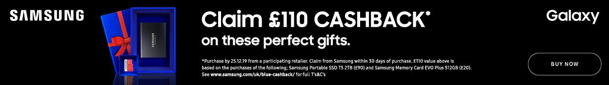 Samsung Blue Cashback