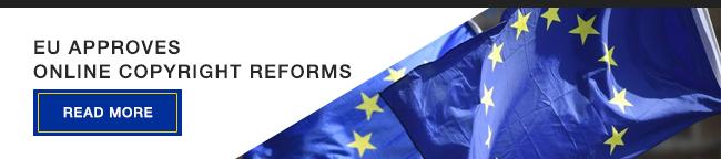 EU approves online copyright reforms