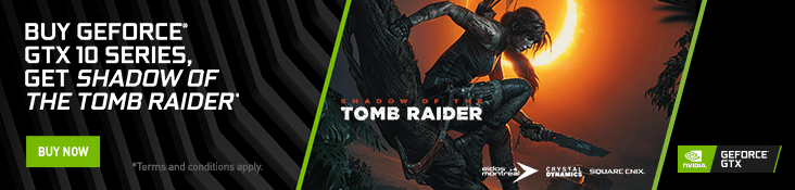 Nvidia: Shadow of the Tomb Raider