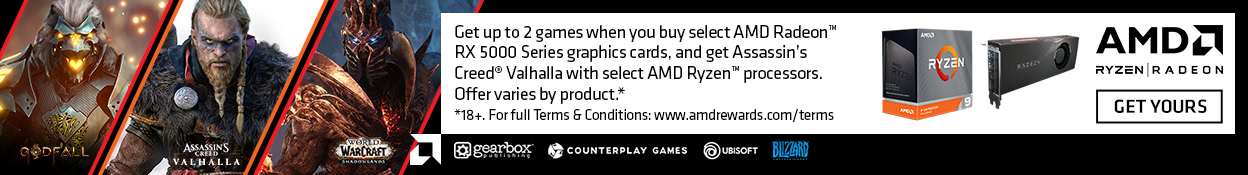 Ryzen Radeon Game Bundle