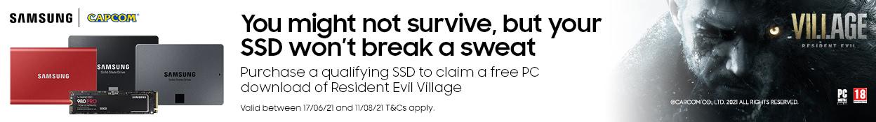 Samsung Resident Evil 8 Promo