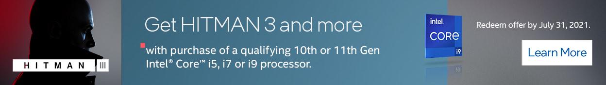 Intel Hitman 3 Promo
