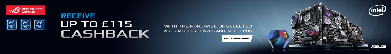 Intel ASUS Cahback promo