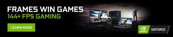 Frames Win Games Nvidia