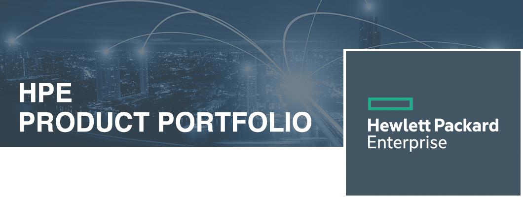 HPE Product Portfolio