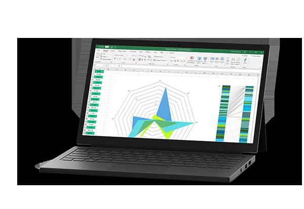 Modern laptop image
