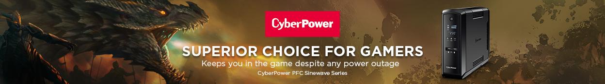 Cyberpower - Superior choice