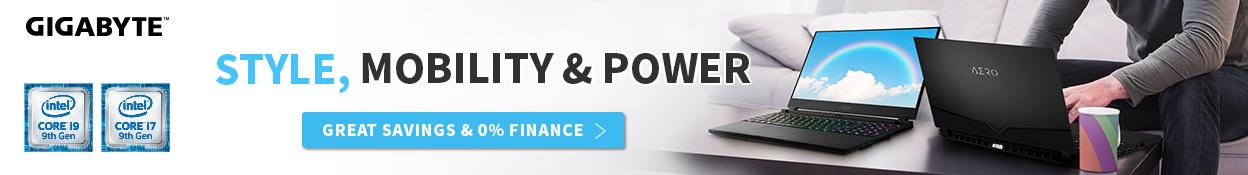 Gigabyte Aero: Style Mobility Power