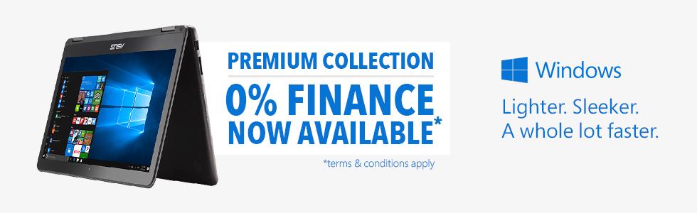 Windows Premium Collection Header