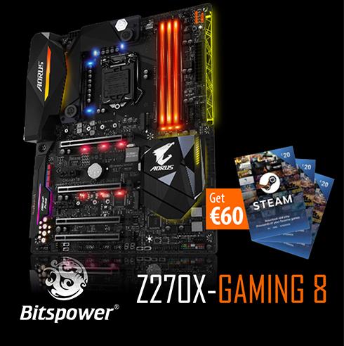 Gigabyte Intel AORUS GA-Z270X-Gaming 8 LGA 1151 ATX Motherboard