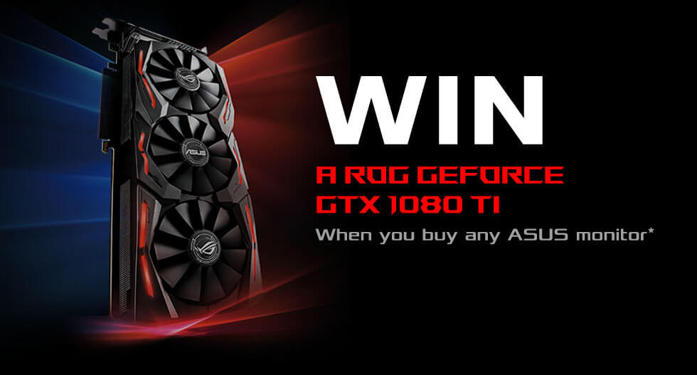 Asus win a ROG GeForce GTX 1080 TI