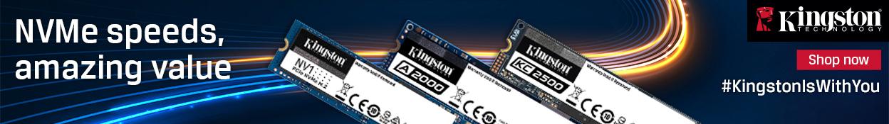 Kingston NVMe SSDs