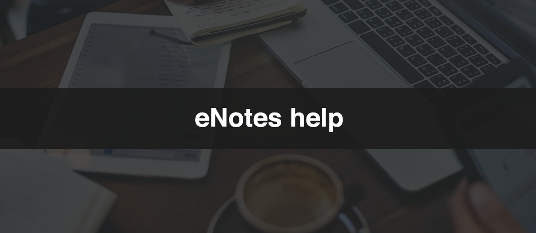 eNotes Help