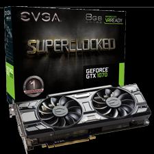 EVGA GeForce GTX 1070 SC GAMING Graphics Card