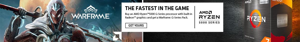 AMD Ryzen 5000 G-Series - Warframe