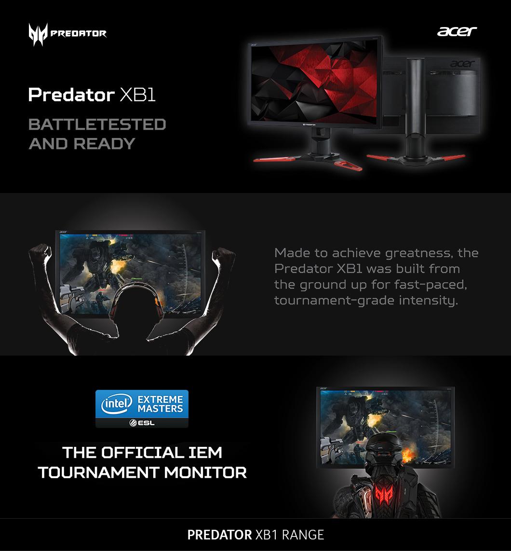 Acer Predator XB1 Monitors