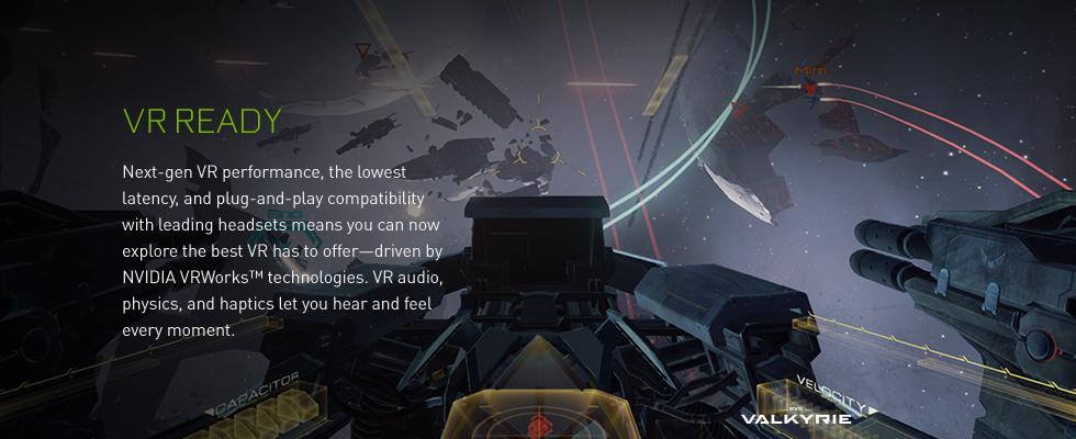Geforce VR Ready