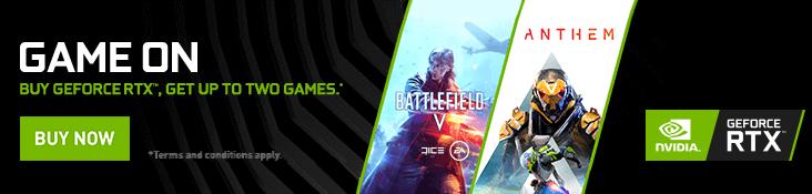 Battlefield V & Anthem
