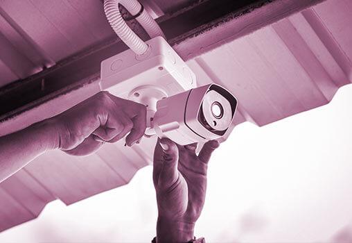 Fitting CCTV