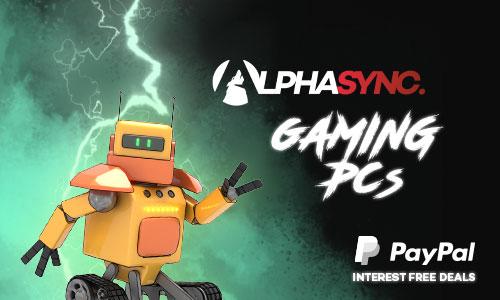 AlphaSync PCs Interest Free