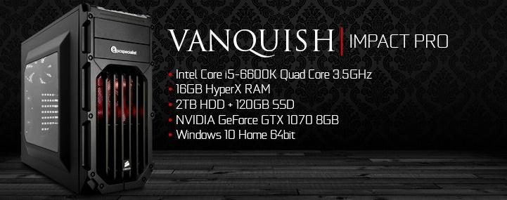 PC Specialist Vanquish Impact Pro