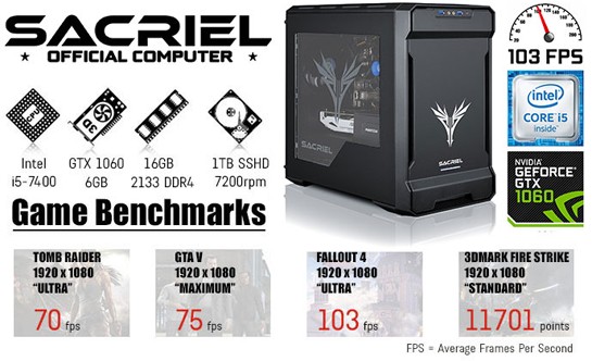 Sacriel - Official Computer