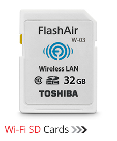 Wifi SD Cards