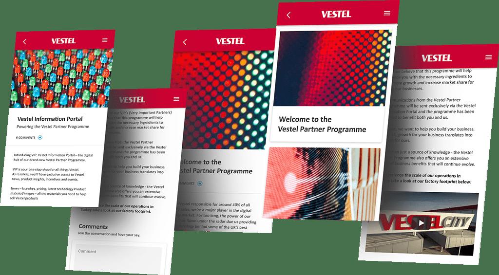 Vestel Information Portal
