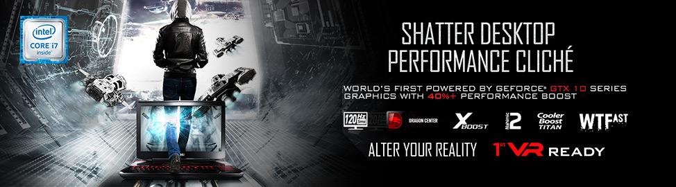 Shatter Desktop Performance Cliche