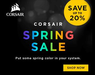 Corsair Spring Sale