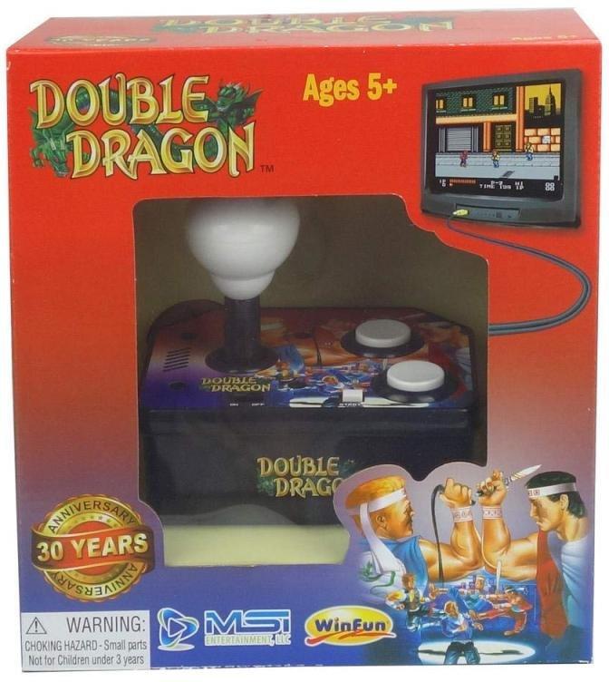 Double Dragon Classic Plug and Play Arcade Game