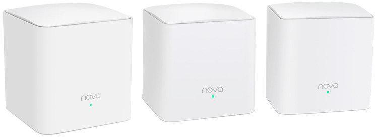 Tenda Nova MW5s AC1200 Whole Home Mesh WiFi System - 3 Pack