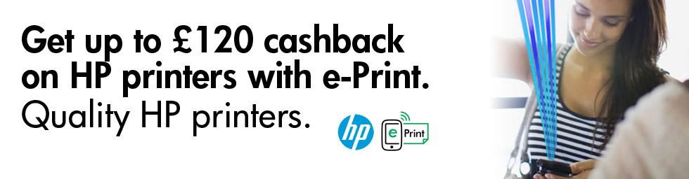 HP ePrint Cashback