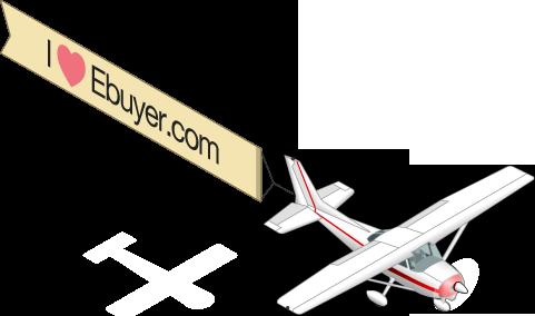I Love Ebuyer Plane