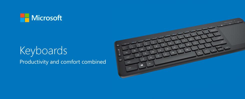 microsoft keyboards